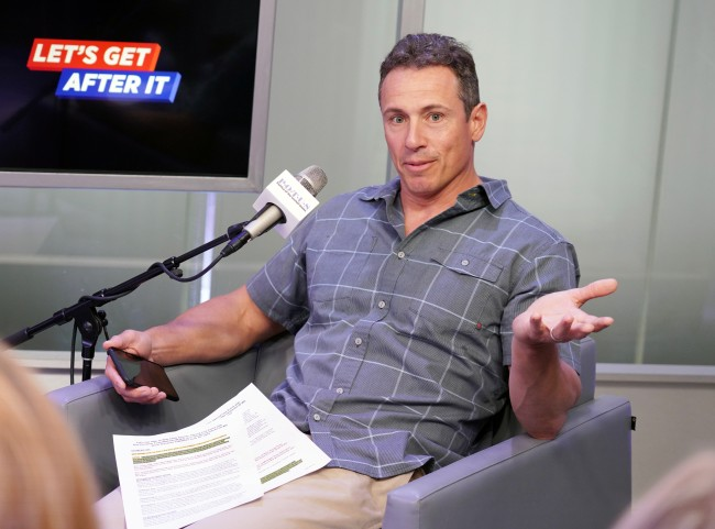 CNNs Chris Cuomo Seemingly Caught Naked in Wifes Yoga