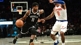 Nets' Kyrie Irving Is Reportedly Pushing For NBA Players To Consider Sitting Out And Not Play 'During This Period Of Racial Tension In The U.S.'