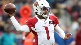 Cardinals QB Kyler Murray Fires Back At Fan Who Has A Problem With Him Kneeling During The Anthem Next Season 'You Think I Give A F'