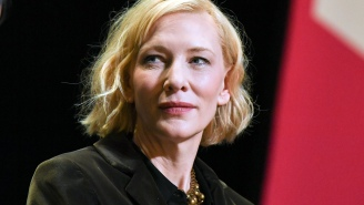 Cate Blanchett Is Far Too Polished An Actor To Be Wielding A Chainsaw