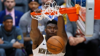 Zion Williamson's Signed Rookie Card Just Sold For More Than A Michael Jordan Game-Worn Uniform