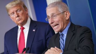 President Trump Fires Back At Dr. Fauci Over NFL Restart, Still Says He's Not Watching Football Due To Anthem Controversy