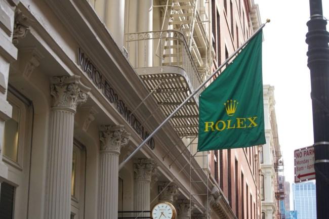 new york city looters rolex soho