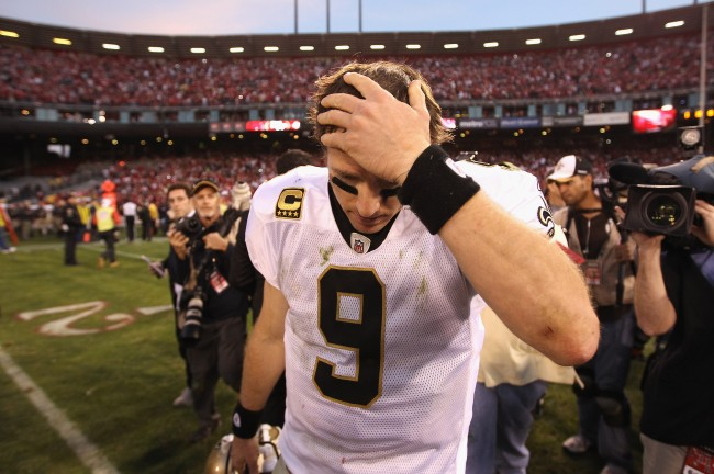 The Sports World Reacts To Drew Brees' American Flag Comments - cover