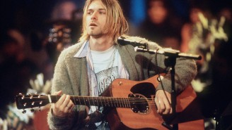 Kurt Cobain's Guitar From 'MTV Unplugged' Just Became The Most Expensive Guitar Ever Sold