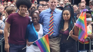 Mayor De Blasio's Daughter Arrested For Unlawful Assembly Amid Protestors