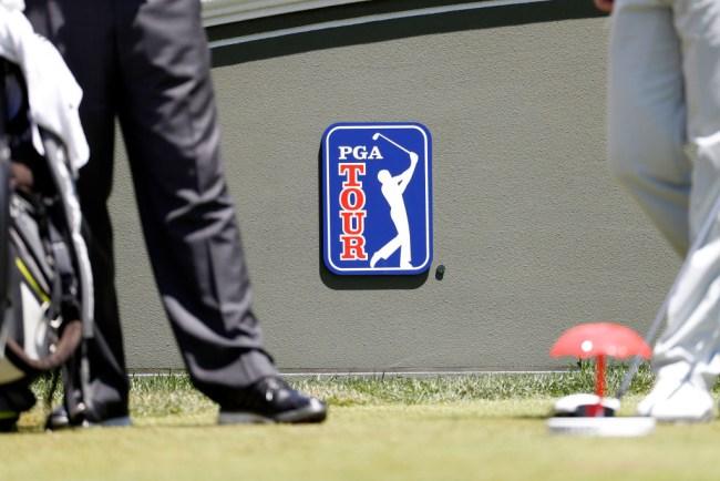pga tour players caddies not following health safety procedures