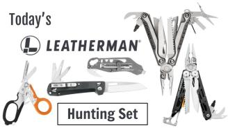 Today's Leatherman: Hunting Set