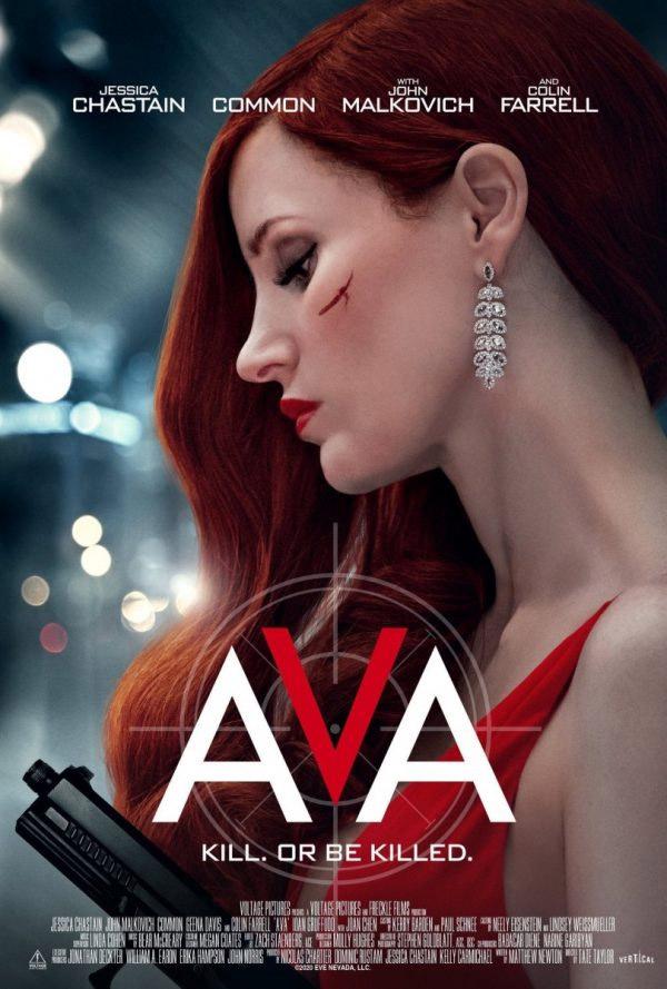 Jessica Chastain Ava Trailer With Colin Farrell John Malkovich