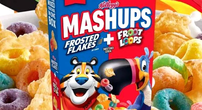 Kelloggs Is Combining Frosted Flakes And Fruit Loops Into One Box