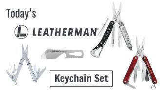 Today's Leatherman: Keychain Set
