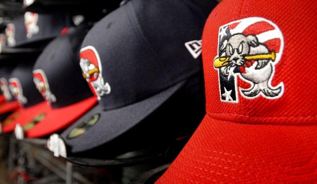 Minor League Portland Sea Dogs Turned Their Stadium Into A Golf Course