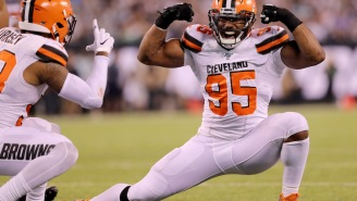 Myles Garrett Helps Double Donations For Man Who Lost Left Eye During Cleveland Protests