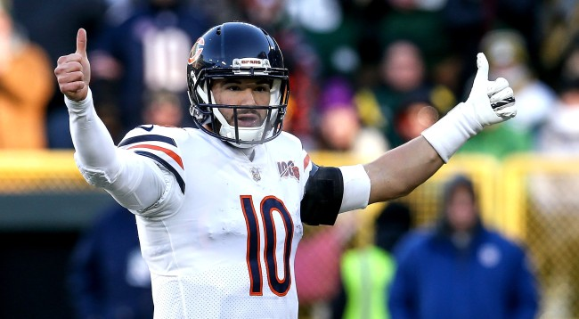 Old Chicago Bears Tweet Calling Mitch Trubisky A Bum Resurfaces