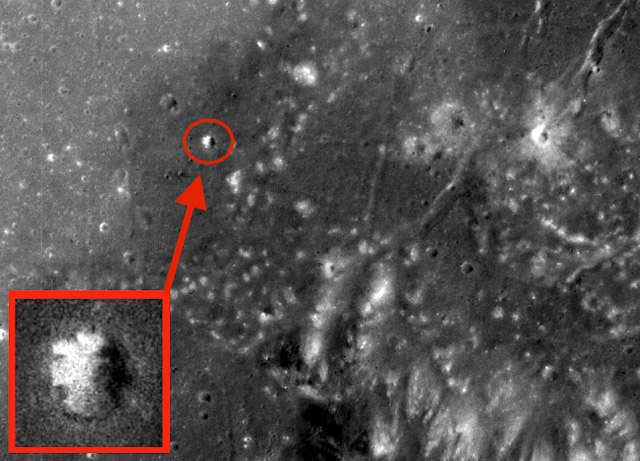 Proof Of An Ancient Structures Spotted On The Moon In Apollo 15 Photos