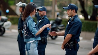 Protesters Try To Give Pepsi To Police To Promote Peace And Harmony: 'It Helped In The Commercial'