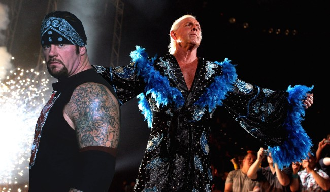 Ric Flair Shares Story About A Night Out Drinking With The Undertaker