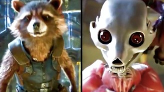 This Video Of Rocket Raccoon Being Created With VFX Is Truly, Deeply Disturbing