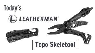 Today's Leatherman: Topo Signal