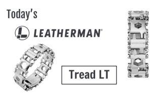 Today's Leatherman: Tread LT