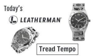 Today's Leatherman: Tread Tempo