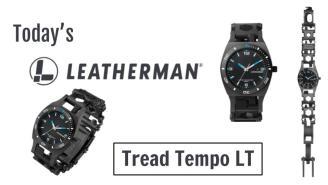 Today's Leatherman: Tread Tempo LT