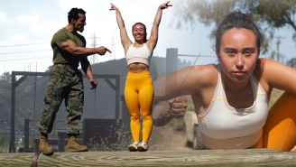 Decorated UCLA Gymnast Katelyn Ohashi Takes On The U.S. Marine Obstacle Course, Does Pretty Good