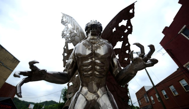 West Virginians Want Confederate Monuments Replaced With Mothman Statues