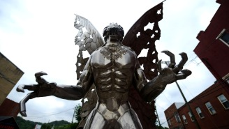 West Virginians Campaigning To Replace Confederate Monuments With Mothman Statues