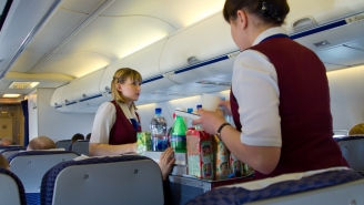 Some Airlines Have Stopped Serving Alcohol Due To Safety Concerns Even Though Most People Flying Right Now Could Use A Drink