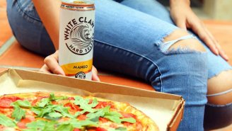 Blaze Pizza Is Making A Crust With Mango White Claw And TODAY Is The Only Day To Get It