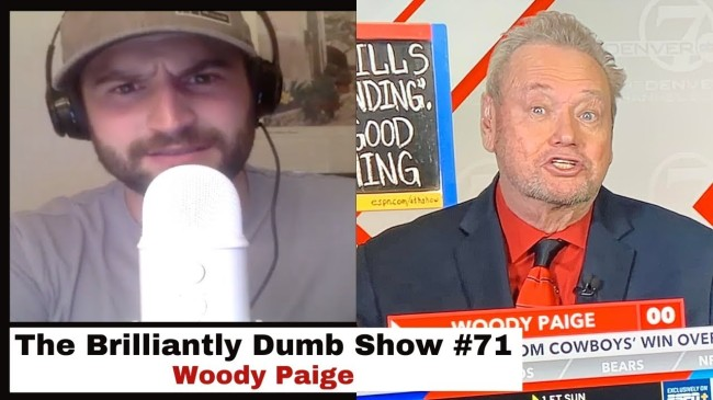 woody paige skip bayless fight brilliantly dumb show