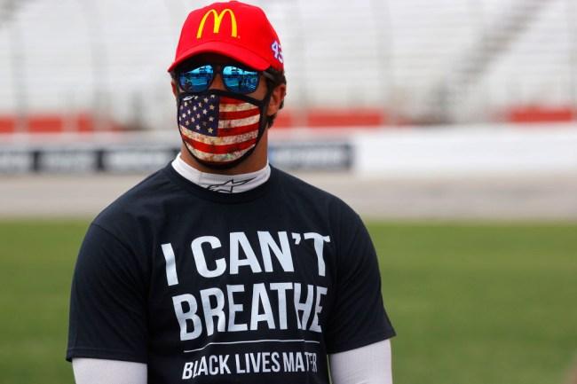 bubba wallace nascar confederate flag ban