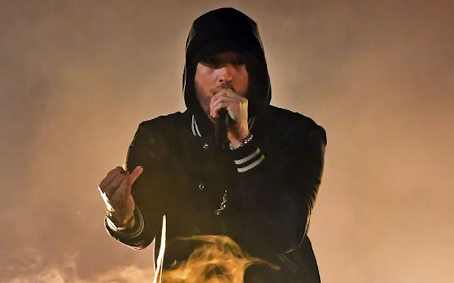 """Eminem Updates His List Of The Greatest Rappers Of All Time Almost Two Decades After Revealing His Favorites On """"Till I Collapse'"""