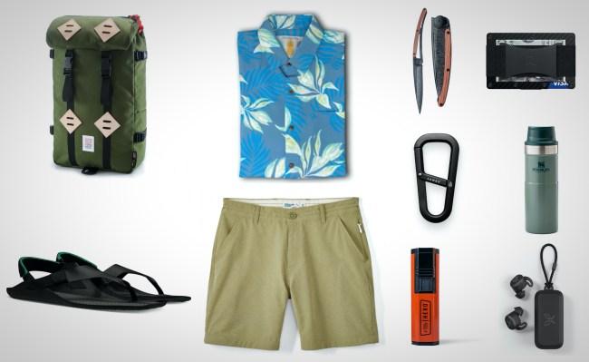 everyday carry summer adventure gear