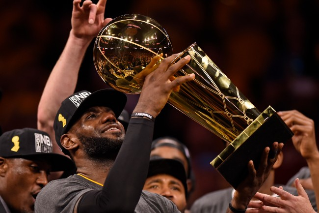 By winning the 2016 NBA Finals, LeBron James gave my dad and me an unforgettable Father's Day