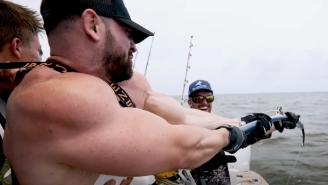 YouTubers Bradley Martyn And The Nelk Boys Go Fishing For Dinosaur-Sized Grouper And Catch Some Massive Sharks Too