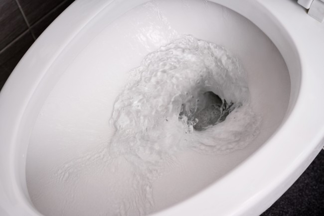 flushing toilet droplets covid 19 spread