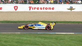 Indy Car Spotter Explains How They Help Race Car Drivers Avoid Crashes And Win Tight Races