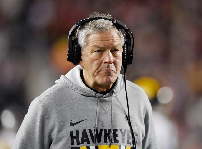 """Iowa head football coach Kirk Ferentz is being accused of running a """"living nightmare"""" by former running back Akrum Wadley"""