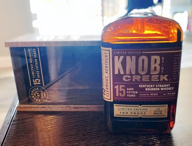 Knob Creek 15-year-old Kentucky Straight Bourbon limited edition