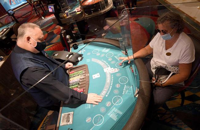Caesars casino vegas mask gambling promotion