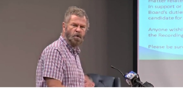 Angry Florida Man Goes On Intense Rant Against Wearing Masks At City Council Meeting 'I Will Not Be Muzzled Like A Mad Dog'