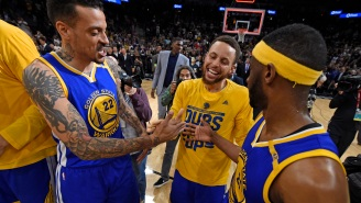 Matt Barnes Claims Steph Curry Owes Him A Smoke After Promising He'd Light One Up After Winning A Title