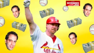 Mark McGwire's Baffling Cold Shoulder To Fan Who Caught His Historic Home Run Still Makes No Sense Two Decades Later