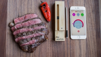 MEATER Is The World's First Wireless Leave-In Meat Thermometer, Which Syncs With An App To Perfect The Art Of Cooking