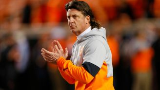 A Former Pro Bowler Says Mike Gundy Hurled The N-Word At Black Opponents When He Was A Quarterback At Oklahoma State