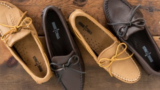 These Minnetonka Moosehide Moccasins Are A Perfect Summer Shoe That Won't Break The Bank