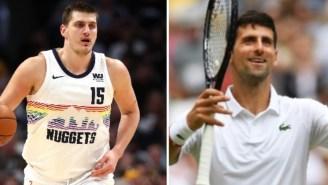 Nuggets' Nikola Jokic Tests Positive For Coronavirus A Week After He Was Seen Hugging Novak Djokovic