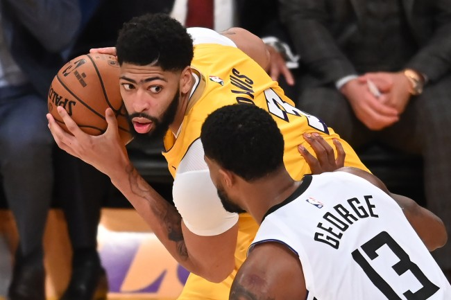 Was Paul George referring to Anthony Davis when he mentioned the reason why he wanted a trade from the Indiana Pacers in 2017?